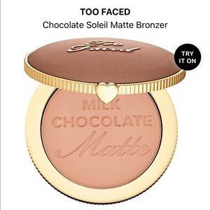 Too Faced Milk Chocolate Soleil Bronzer Matte